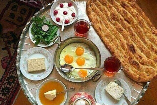 Different Types Of Iranian Bread