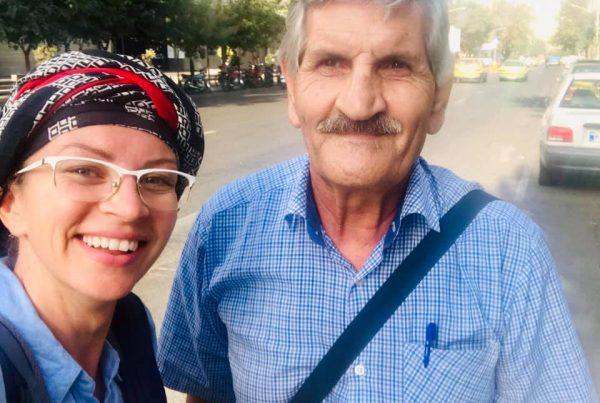 A friendly Iranian man