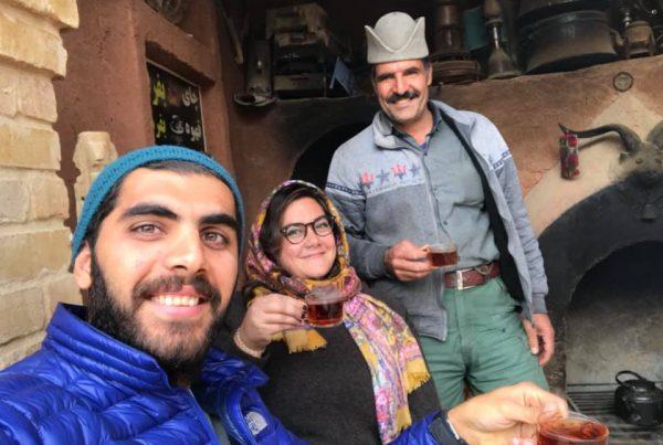 Tea-with-local iranians
