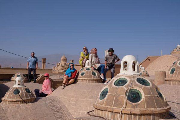 clay domes-yazd-iran